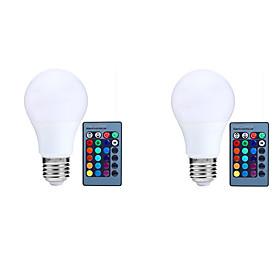Wholesale-E27 LED crystal magic ball RGB rotating lamp bulb AC85-260V 3W auto disco DJ light with stage effect 240977972