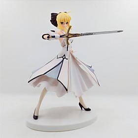 Figuras de Ação Anime Inspirado por Fate/Stay Night Saber Lily PVC 18 CM modelo Brinquedos Boneca de Brinquedo 6001232