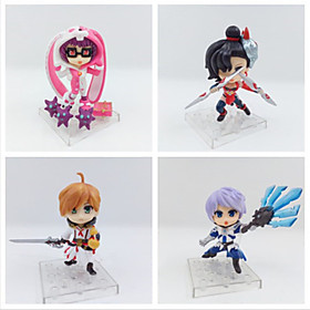 Anime Action Figures Inspired by Cosplay Cosplay PVC 10 CM Model Toys Doll Toy 1set 6001243