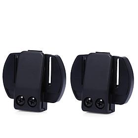2Pcs/Lot V6 Clip Bracket Suitable for V6 V4 V2-500C Motorcycle Bluetooth Multi Interphone Headset Helmet Intercom Holder Buckle 5986216