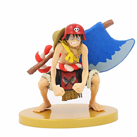 Anime Action Figures Inspired by One Piece Monkey D. Luffy PVC 18 CM Model Toys Doll Toy 1pc 6001956