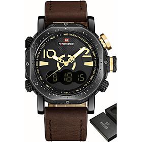 Luxury Brand NAVIFORCE Men Sport Military Watches Men's Quartz Analog LED Digital Wrist Watch Man Clock Relogio Masculino 5998434