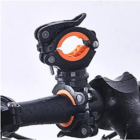 360 Degree Rotation Cycling Bike Bicycle Flashlight Torch Mount LED Head Front Light Holder Clip Bicycle Accessories 5995681