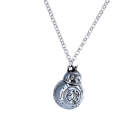 Lureme Women's Men's Pendant Necklaces Jewelry Geometric Alloy Dangling Style Movie Jewelry Euramerican Crossover Fashion Punk Hip-Hop Jewelry 5990876