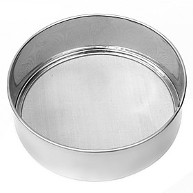 About 15CM Stainless Steel Mesh Flour Sifting Sifter Sieve Strainer Gift Baking Kitchen Gift Baking Tool