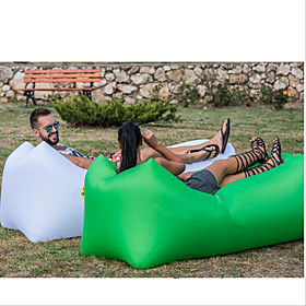 Air Sofa Inflatable Sofa Sleep lounger Air Bed Outdoor Camping Waterproof Portable Moistureproof Design-Ideal Couch Oxford Camping / Hiking Beach Traveling for