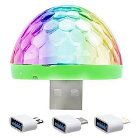 1 pc LED Night Light / USB Lights Sensor / Color-Changing Crystal / Modern Contemporary