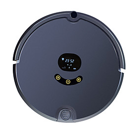 FENGRUI Robot Vacuum Cleaner FR-s Remote Control / RC Dry Mopping Wet Mopping Remote LED screen 2.4G Schedule Cleaning Combination Mode / Wet and Dry Mopping /