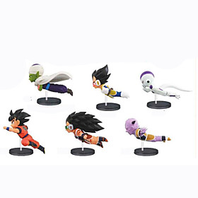 Anime Action Figures Inspired by Dragon Ball Son Goku PVC 8 CM Model Toys Doll Toy 6001249