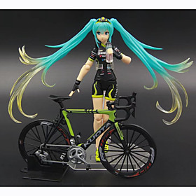Anime Action Figures Inspired by Vocaloid Hatsune Miku PVC 14 CM Model Toys Doll Toy 1pc 6001204