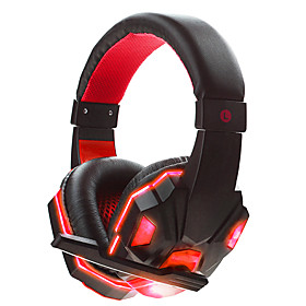 SOYTO Luminous Wired Gaming Headphones Stereo Headset 3.5mm Fone De Ouvido Auriculares Foldable Earphones Audifonos With Mic for PC Mobile Phones 6059791