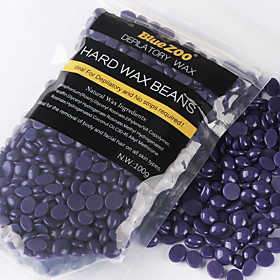 Best Deal New BlueZOO Black Hair removal cream Hair Removal Beans No Strip Depilatory Hot Film Hard Wax Pellet Waxing Bikini 100g 4611