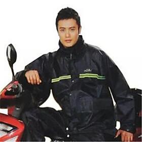 N211-7AX Nylon Silk Raincoat Heaven Double Motorcycle Raincoat Rain Pants Outdoor Suit Suit 6008479