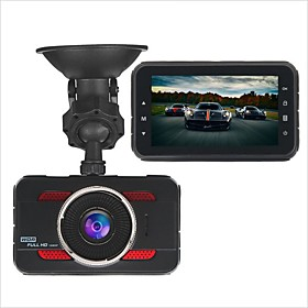 Y80 1080p HD Car DVR 170 Degree Wide Angle 3 inch Dash Cam with G-Sensor / Parking Monitoring / motion detection No Car Recorder / Loop recording / auto on / o