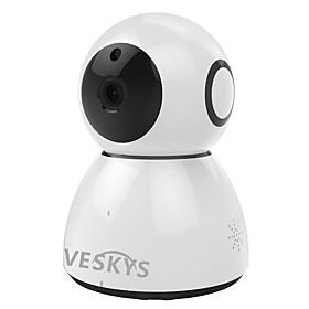 VESKYS 2.0MP 1080P HD Wifi Security Surveillance IP Camera Cloud Storage Two Way Audio Remote Monitor
