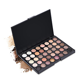 New 40 Colors Eyeshadow Palette Dry Matte Shimmer Mineral Eyeshadow Palette Daily Makeup Halloween Makeup Party Makeup Fairy Makeup Cateye Makeup 6089066