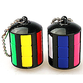 Rubik's Cube Smooth Speed Cube Magic Cube Key Chain Stress Reliever Puzzle Cube Fun Classic Gift Fun  Whimsical Classic Unisex 6162904