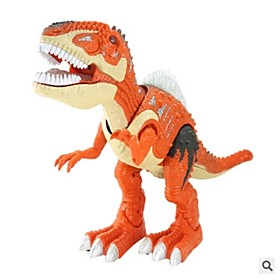 Educational Toy Animals Action Figures Light Up Toys Toys Tyrannosaurus Dinosaur Walking Simulation Boys' Teen Boys 1 Pieces 6179941