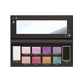 Professional 10 Colors Eyeshadow Palette Natural Long Lasting Women Eyes Makeup Highlight Glitter Eyeshadow Palette Hot Sale 6049721