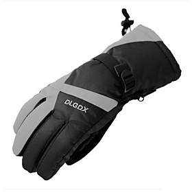Motorcycle Riding Gloves Warm Men And Women Winter Outdoor Thickening Electric Car Motorcycle Riding 6150303