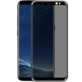 XIMALONG Screen Protector for Samsung Galaxy S8 Plus Full Screen Tempered Glass Film Scratch Proof Anti-peeping 3D Curved Edge 6184346