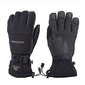 Motorcycle Gloves Thickening Warm Waterproof Gloves Large Size Windproof Motorcycle Riding Gloves Outdoors 6150276