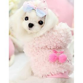 Hund Sweatshirt Hundetøj Afslappet/Hverdag Solid Gul Lys pink 6130939