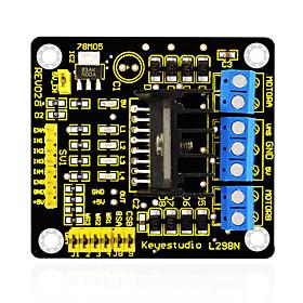 Keyestudio New L298N Shield Dual H Bridge DC Stepper Drive Controller Board Module for Arduino Smart Car Robot 6178267
