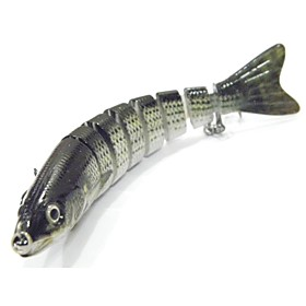 1 pcs Hard Bait Hard Bait g / Ounce mm inch, Plastics Metalic Bait Casting Lure Fishing General Fishing 6084271