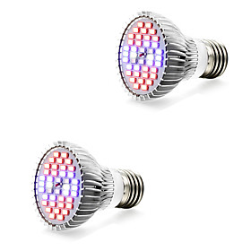 2pcs 7W 800-1200lm E14 GU10 E27 Growing Light Bulb 40 LED Beads SMD 5730 Warm White White Blue Red 85-265V