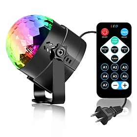 3W 3 LEDs Decorative Remote-Controlled LED Stage Lights RGB AC85-265 6155503