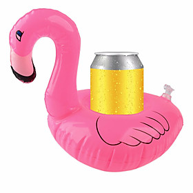 Inflatable Coasters Flamingos Aquatic Float Drink Cup Holder Tray Pool Party Supplies 6105863