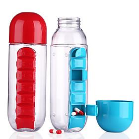 Drinkware Plastics Water Bottle Water Pot  Kettle Cup  Saucer Clear Water Pitcher Travel Convenient 1pcs 6105858