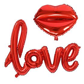 2Pcs/Set Small Love Letters Foil Balloon Wedding Party Decoration 6235411