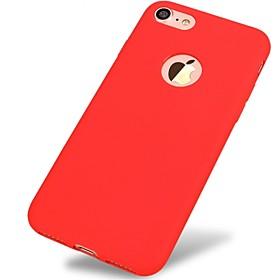 para el caso ultrafino a prueba de choques de la contraportada de la cubierta del caso el tpu suave del color sólido para el iphone de la 6198816
