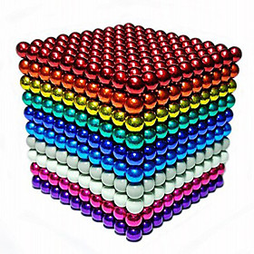 Magnet Toys 216 Pieces 5 MM Magnet Toys Building Blocks Magnetic Balls Executive Toys Puzzle Cube For Gift 5585752