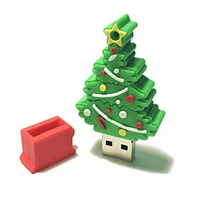 4GB Christmas USB Flash Drive Cartoon Creative Christmas Tree Christmas Gift USB 2.0 6198576