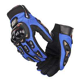 PRO-BIKER Full Finger Motorcycle Airsoftsports Riding Racing Tactical Gloves Auto Engine Protection Cycling Sport Gloves MCS-01C 6258783