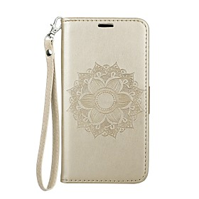 Case For Samsung Galaxy J2 PRO 2018 Card Holder / with Stand / Flip Full Body Cases Mandala Hard PU Leather for J2 PRO 2018