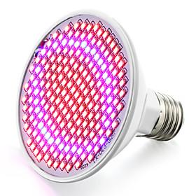 1pc 6 W / 6.2 W 800-850 lm E26 / E27 Growing Light Bulb 200 LED Beads SMD 2835 Red / Blue 85-265 V / 1 pc / RoHS / FCC