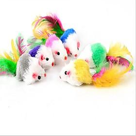 Cat Toy Pet Toys Plush Toy Mouse Faux Fur 6226127