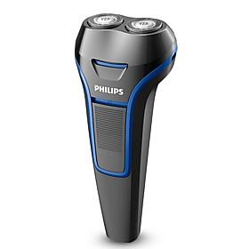 PHILIPS S100/02 Electric Shaver Razor Blue 100-240V Waterproof Washable Body 6250120