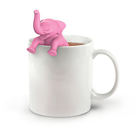 Elephant Tea Infuser Silicone Tea Strainer Loose Leaf Herb Spice Filter