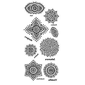Tattoo Stickers Totem Series Pattern Lower Back Waterproof Women Men Teen Flash Tattoo Temporary Tattoos 6254018