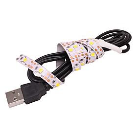 0.5M USB Lamp Tape LED Strip Light 3528 SMD for TV Background Decorative Lighting 5V