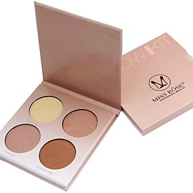 4 Eyeshadow Palette Dry Eyeshadow palette Powder Daily Makeup 6279885