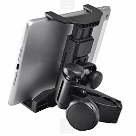 Car Back Seat Headrest Universal / Tablet Mount Stand Holder Universal / iPad / Samsung Galaxy Tab Buckle Type ABS Holder