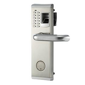 Stainless Steel Password Fingerprint Lock Smart Home Security System Home Villa Hotel Apartment Stainless Steel Door Composite Door