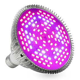 YWXLIGHT 1pc 24W 2400-2500lm E27 Growing Light Bulb 120 LED Beads SMD 5730 Decorative Purple 85-265V
