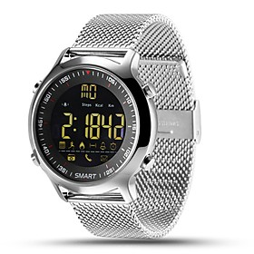 Smartwatch EX18 for iOS / Android Calories Burned / Long Standby / Water Resistant / Water Proof / Exercise Record / Distance Tracking Stopwatch / Pedometer /